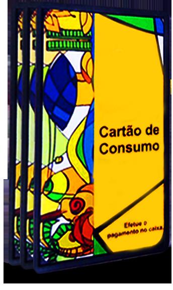 Crachá e carteirinha em PVC Laminado